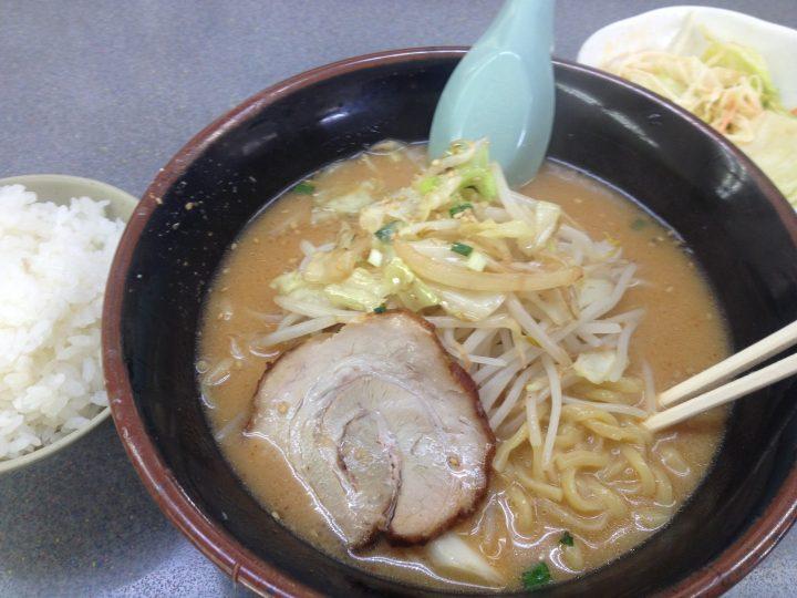 くるまやラーメン新潟巻店の味噌ラーメン