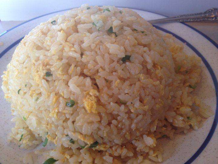 老広東の炒飯(大盛り)のアップ