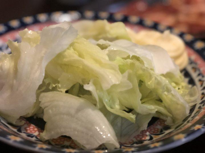 さんきらくの生野菜(レタス)