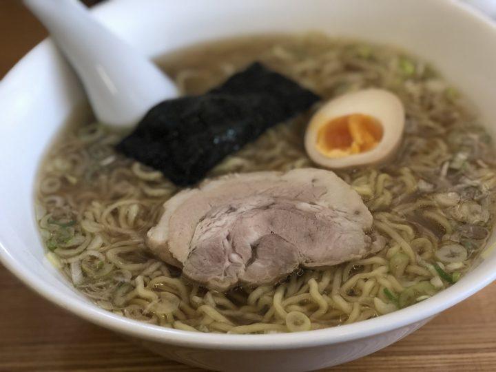 泰紋の中華麺(醤油、得盛)