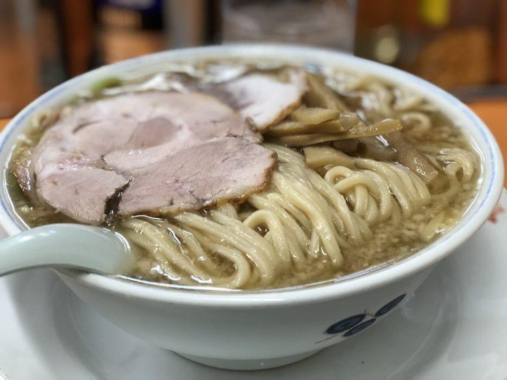 安福亭神田店の老麺(ラーメン)