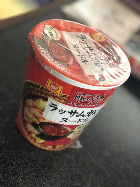 マルちゃん ラッサム ヌードル 2017-11-02 022