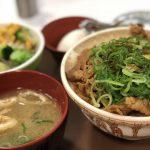 すき家 ねぎ牛丼 2017-10-20 009