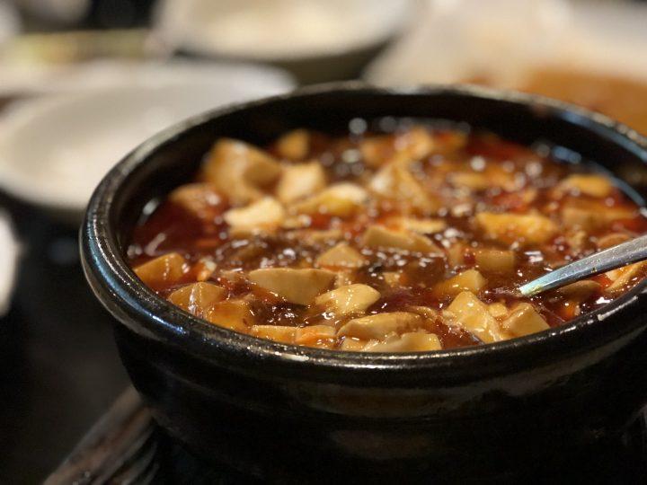 龍騰の麻婆豆腐
