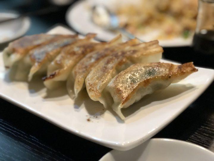 龍騰の焼き餃子