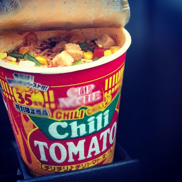 日清食品 チリチリ♪チリトマトヌードル