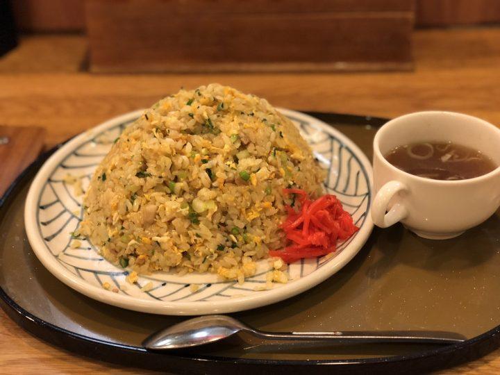 さんぽう亭三条四日町店の炒飯(大盛り、スープ付き)