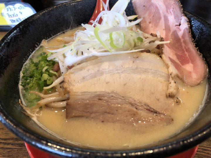 拉麺えぼしの味噌拉麺・アップ