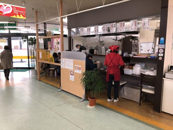 らぁ麺ほっしんのブース(2018年1月)