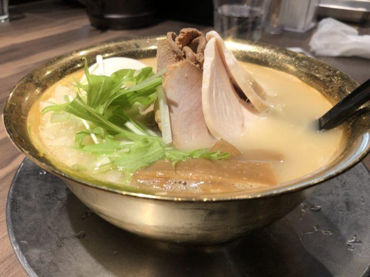 中華そば市松(新潟市)の鶏白湯