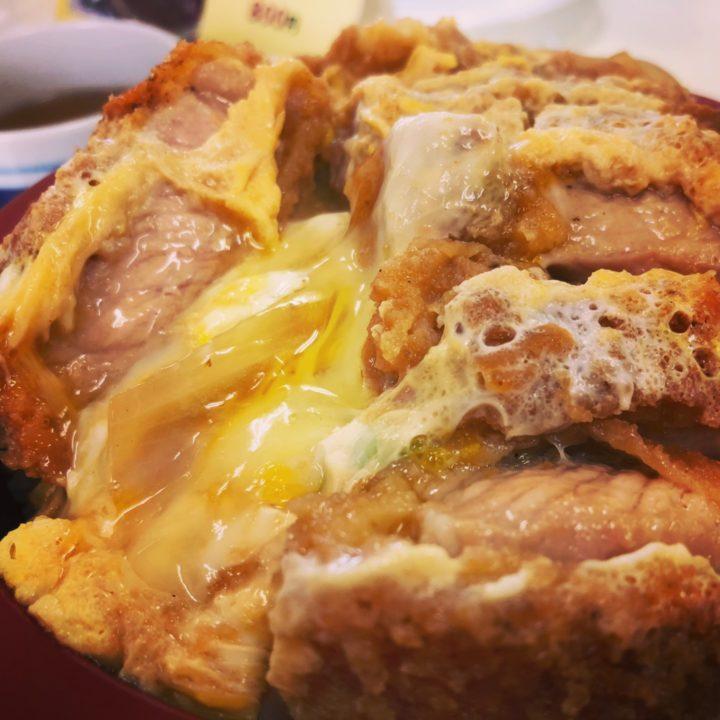 レストラン大三のかつ丼(2018年2月)