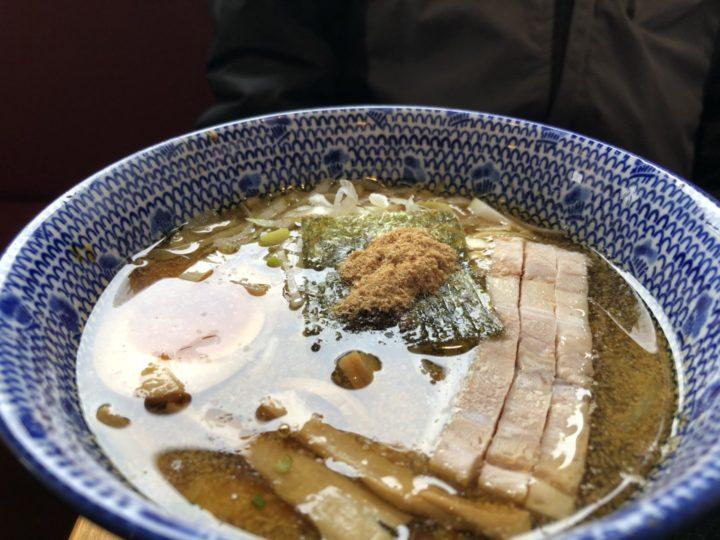 しゃがらのつけ麺あつ盛りのつけ汁