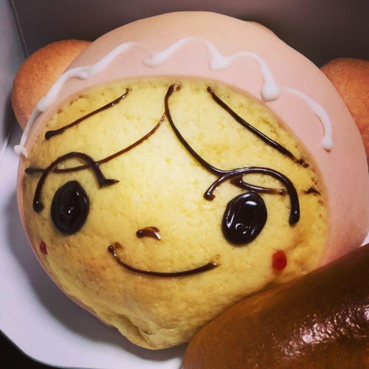 横浜アンパンマンミュージアム・あかちゃんまんの豆乳クリームパン