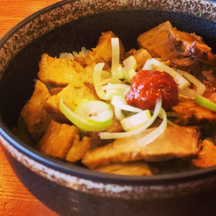 弥彦たかみちの辛子豚丼(ミニ)