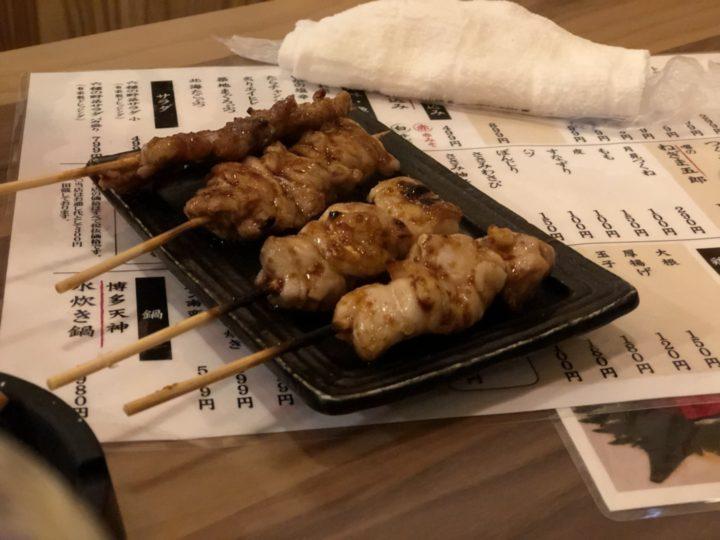 大衆酒場五郎神田西口店の焼き鳥(皮・タレ)