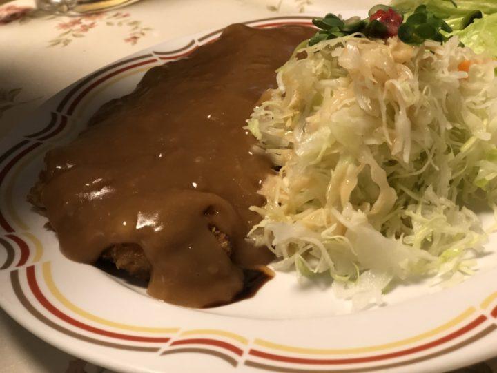 レストランナカタの洋風カツ丼(上だけ)