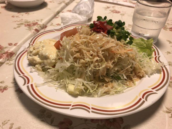 レストランナカタのサラダ