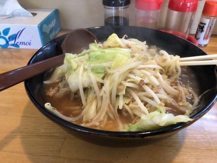 らーめん多菜加の味噌ら~めん(大盛り)