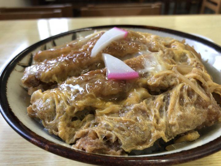 菊水食堂のカツ丼・アップ