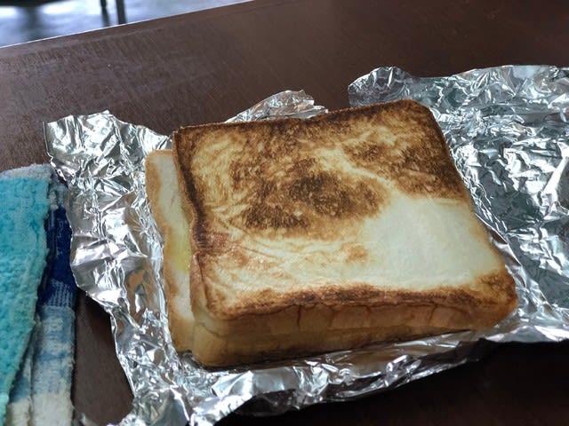 オレンジハット藪塚店のトーストサンド1
