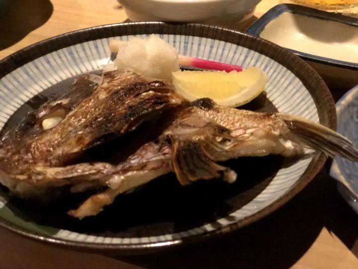 豪海亭・鯛の兜焼き