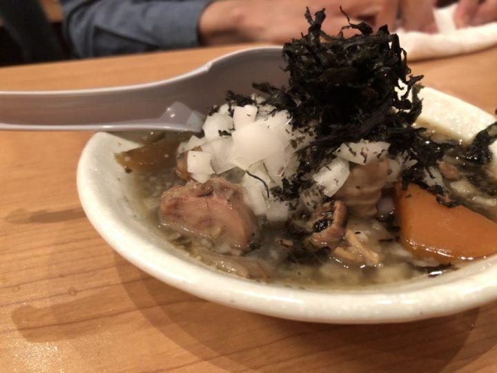 かきもと 燕三条 背脂もつ煮 2018-10-14 919