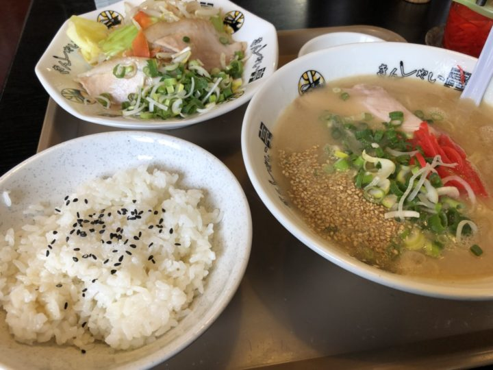 きんしゃい亭県央店のA定食