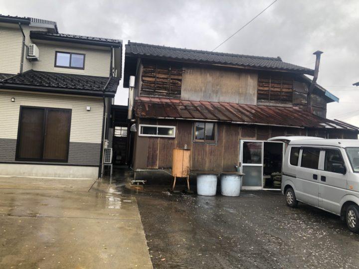 清水豆腐店(漆山町)の外観