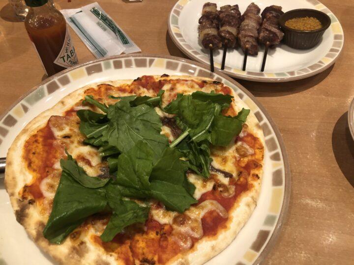 pizza サイゼリヤ